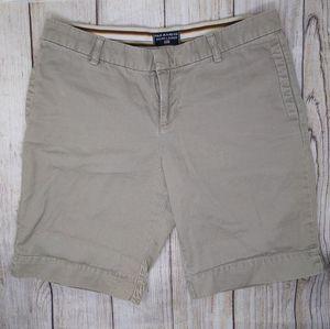 Polo Jeans by Ralph Lauren Tan Khaki Shorts Sz 6